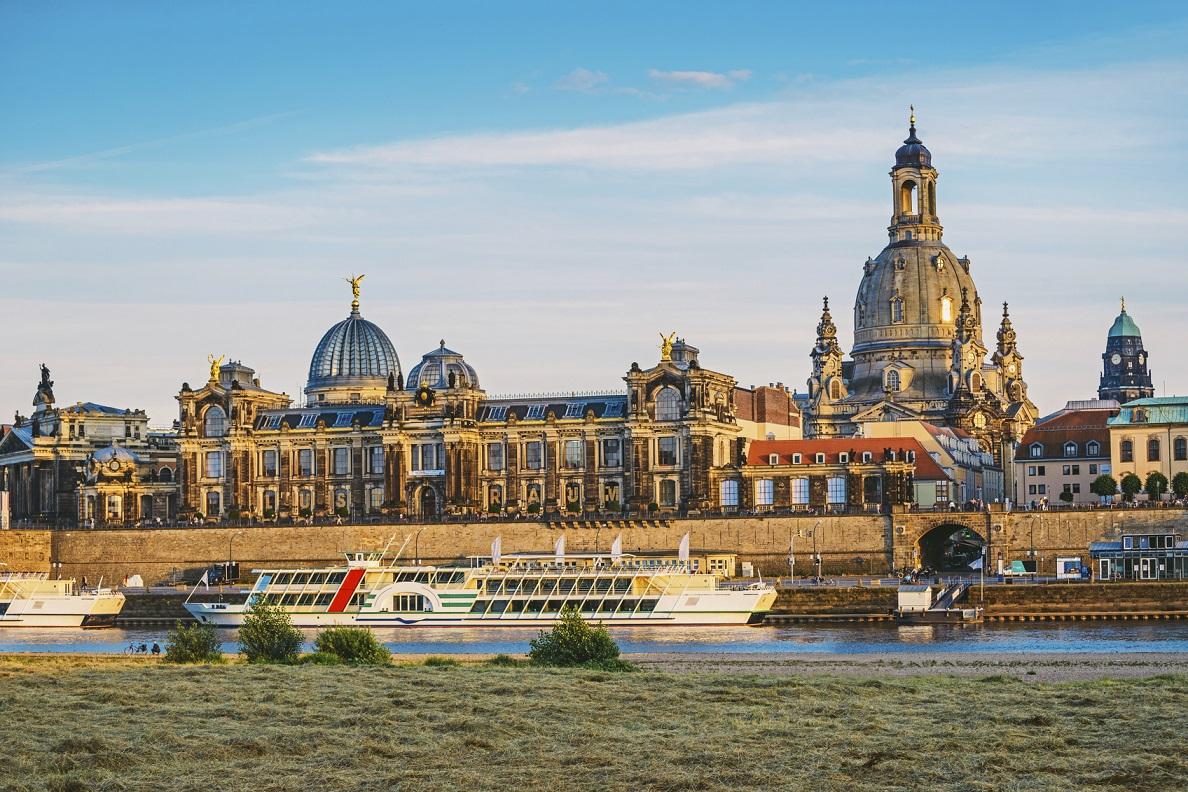 Thành phố Dresden là một thành phố thơ mộng và yên bình