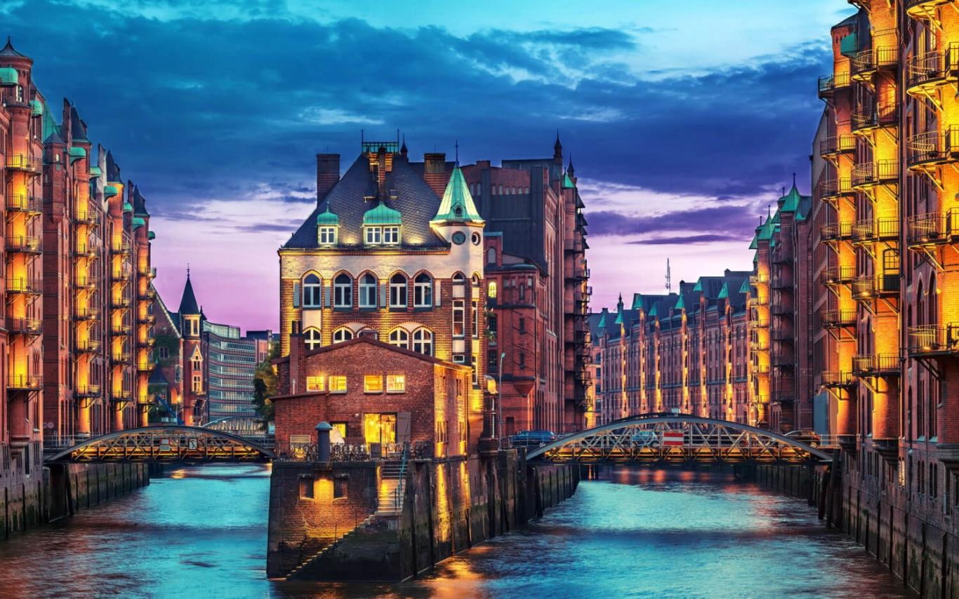 Thành phố Hamburg nước Đức