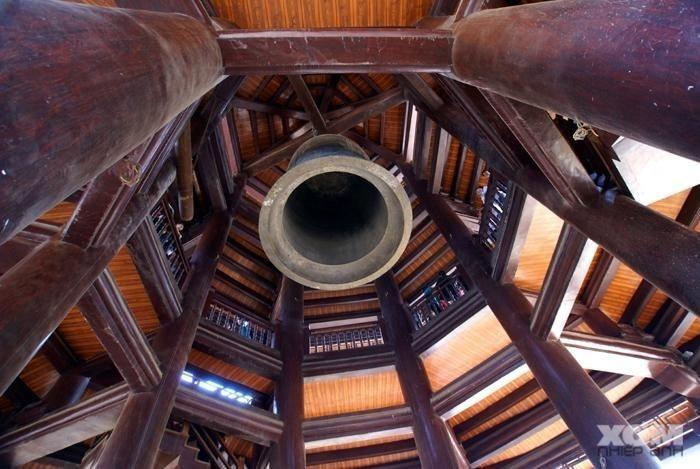 Chuông đồng khổng lồ chùa bái đính