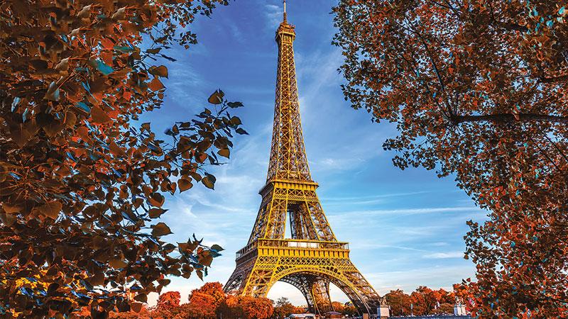 Tháp Eiffel được biết đến là một biểu tượng của nước Pháp