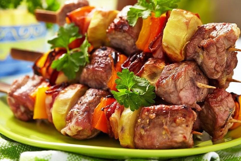 Du lịch Nga - Thịt nướng Shashlik