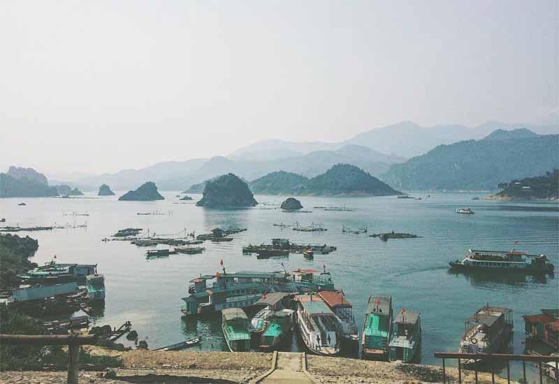 Mùa thu ở Thung Nai