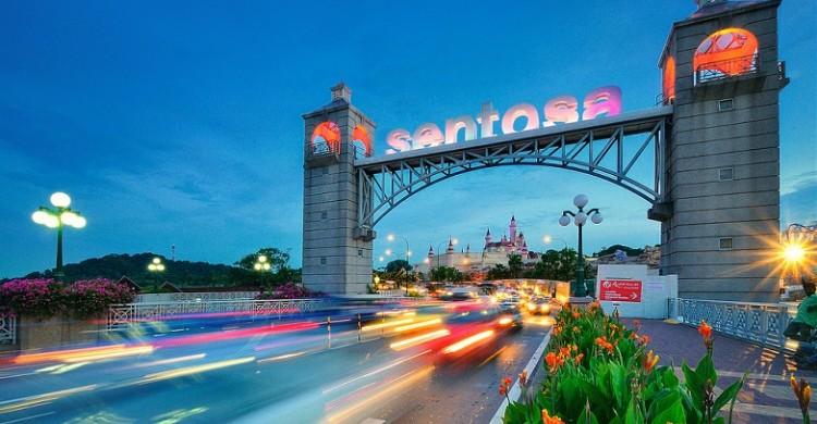 tour du lich singapore sentosa
