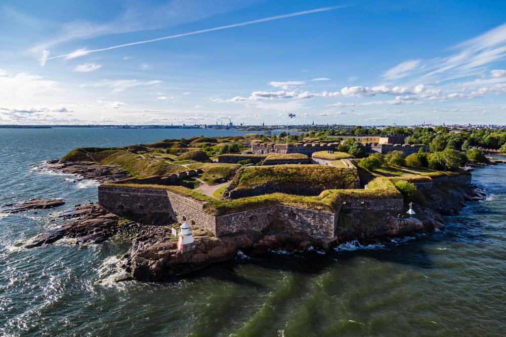 Du lịch Phần Lan mùa Thu 2019 -Đảo Suomenlinna