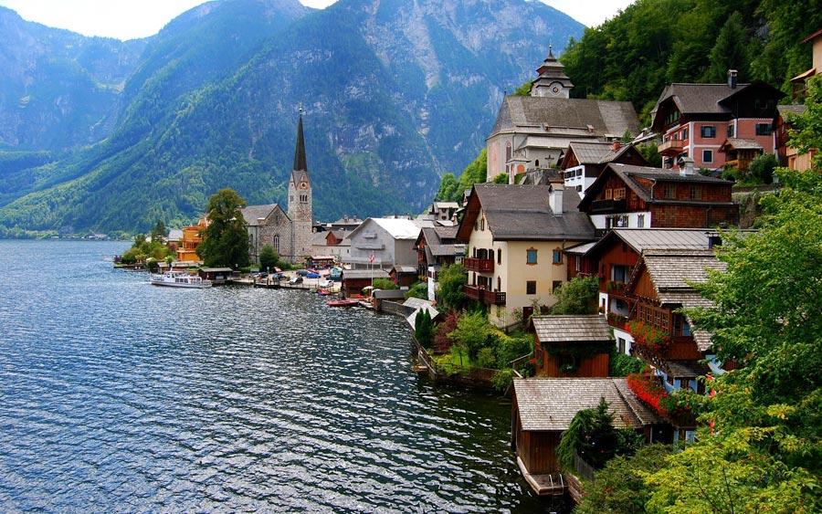 Du lịch Áo mùa Thu