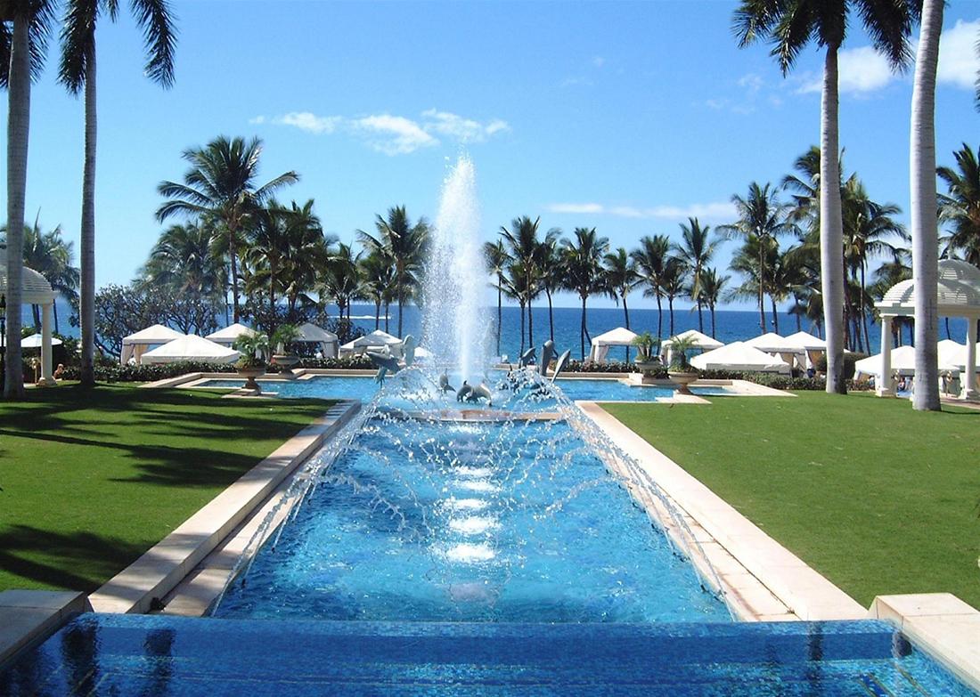 Đảo Tuần Châu còn sở hữu những khu nghỉ dưỡng thiên đường như thế này. tour hạ long.