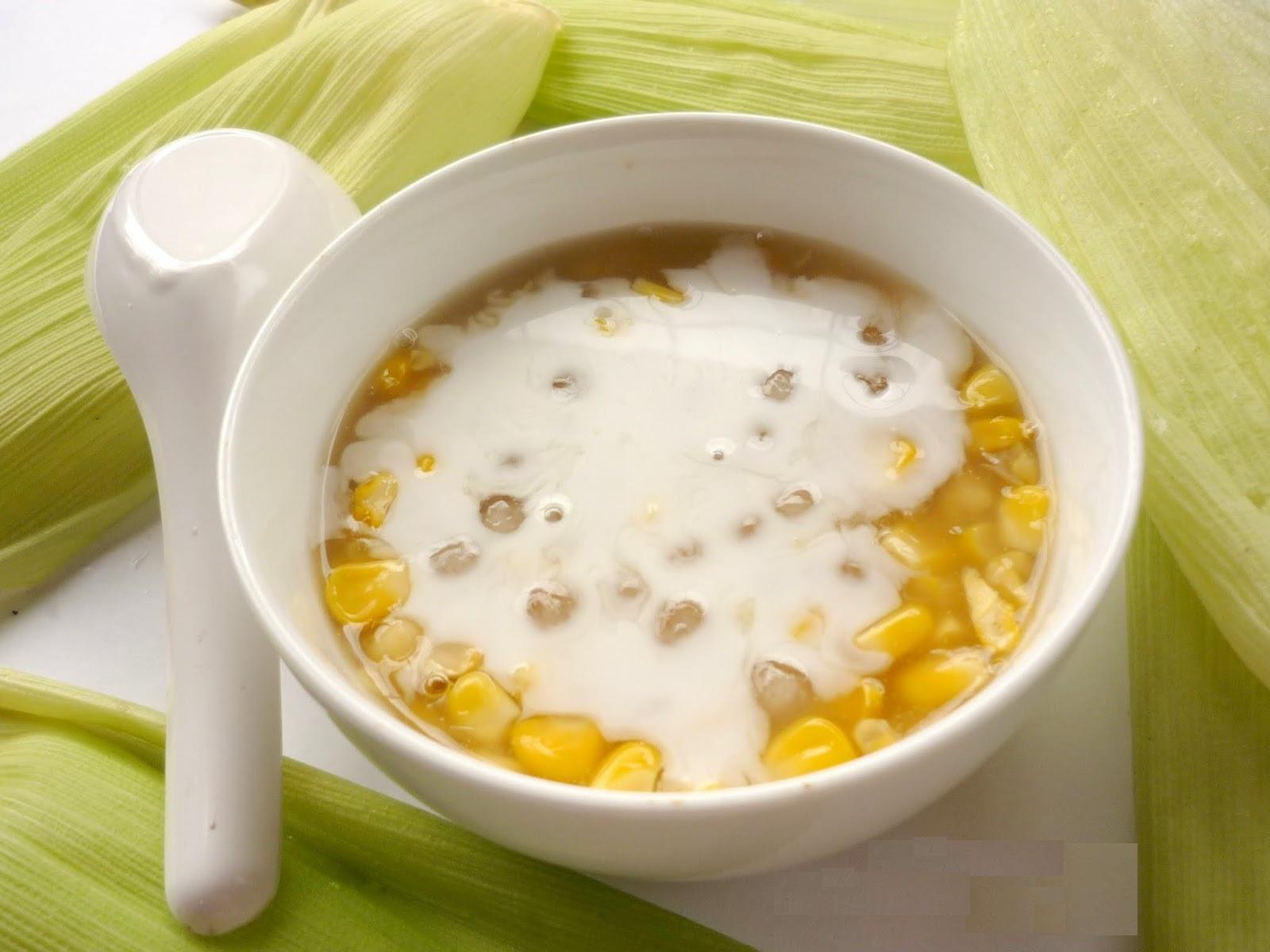 Chè bắp cũng là món ăn siêu ngọt ngào, thơm ngon. Tour hội an, tour du lịch hội an.