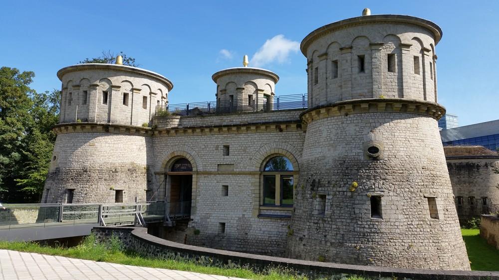 Du lịch Luxemburg -Pháo đài Fort Thungen
