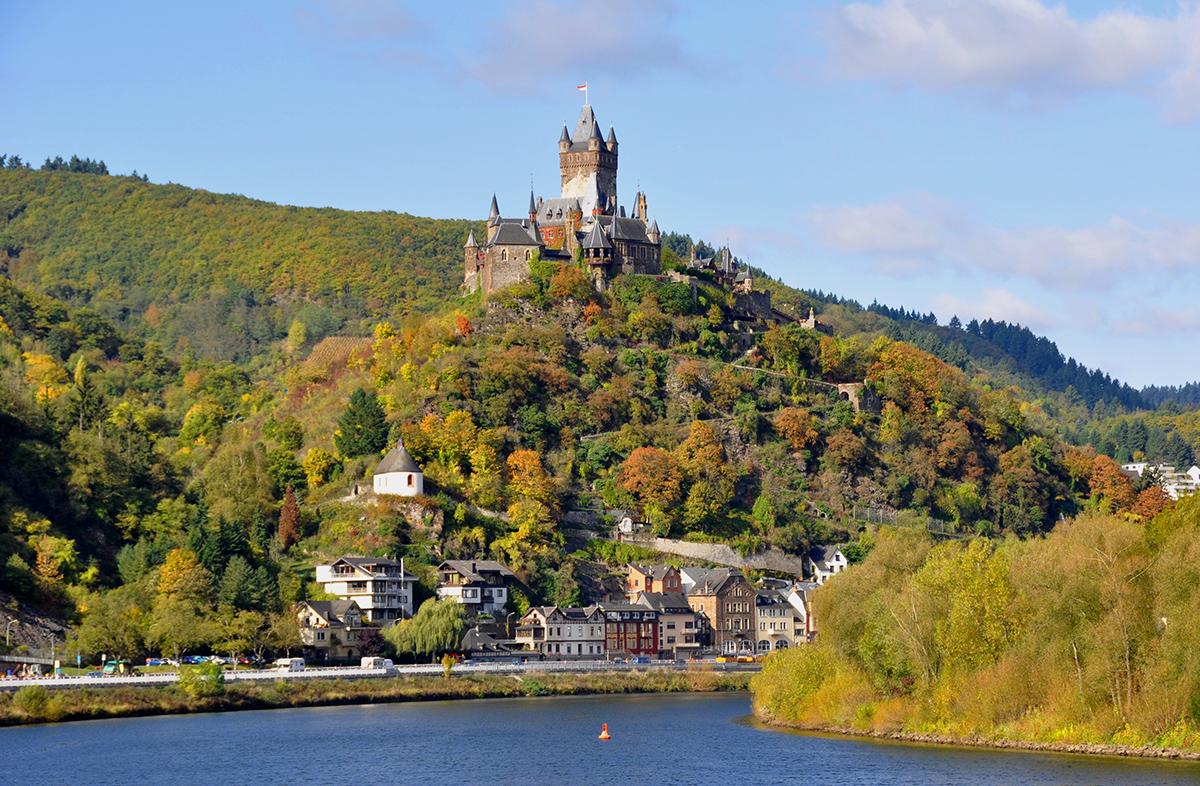 Du lịch Luxemburg -Lâu đài Cochem