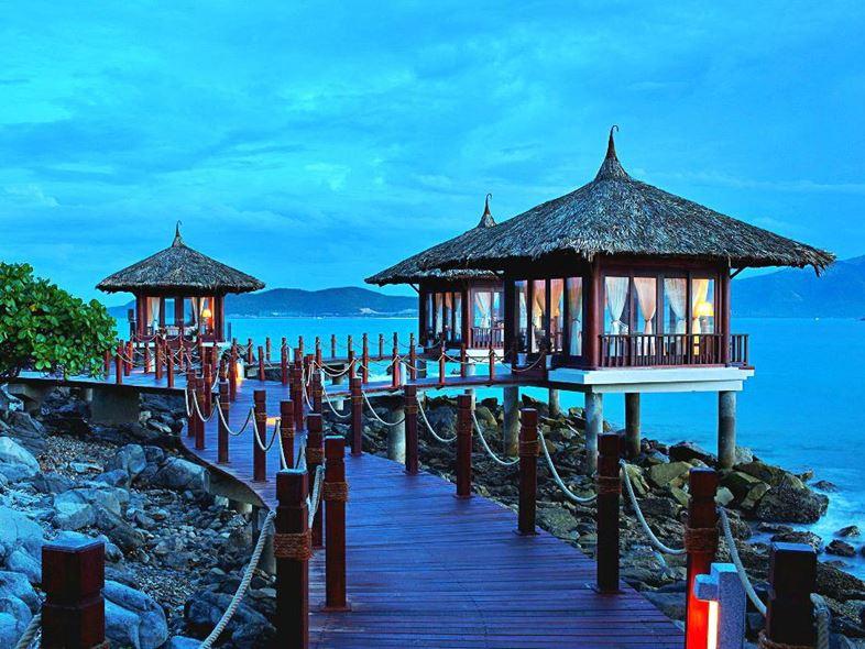 Vẻ đẹp resort trên hòn Tằm, Nha Trang được nhiều người yêu thích
