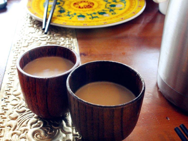 Trà bơ Tây Tạng - Du lịch Tây Tạng