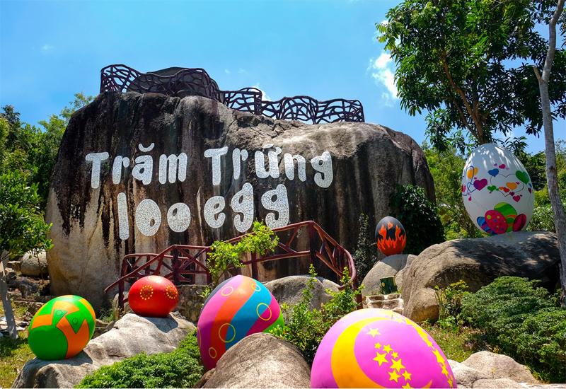 khu du lịch Trăm Trứng ở Nha Trang
