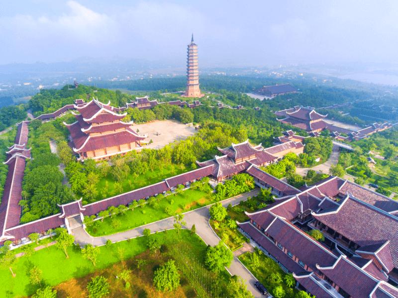 Chùa Bái Đính được đánh giá là ngôi chùa lớn nhất Việt Nam