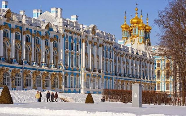 Vẻ đẹp xa hoa bên trong cung điện Mùa Đông