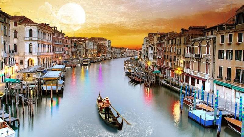 Vẻ thơ mộng đầy quyến rũ của thành phố lãng mạn nhất châuÂu