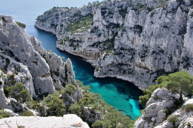 Vùng biển đẹp Calanque d'en
