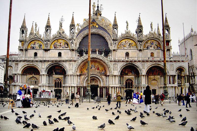Du lịch Ý - Vương cung thánh đường St. Mark